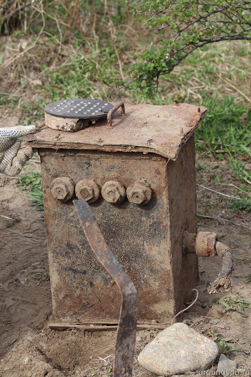 Кабельный ящик электрозаграждений