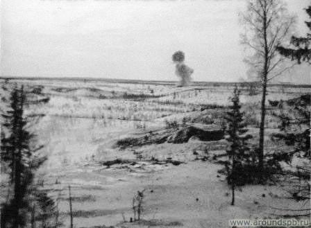 Подрыв ДОТа №07 31.03.1942