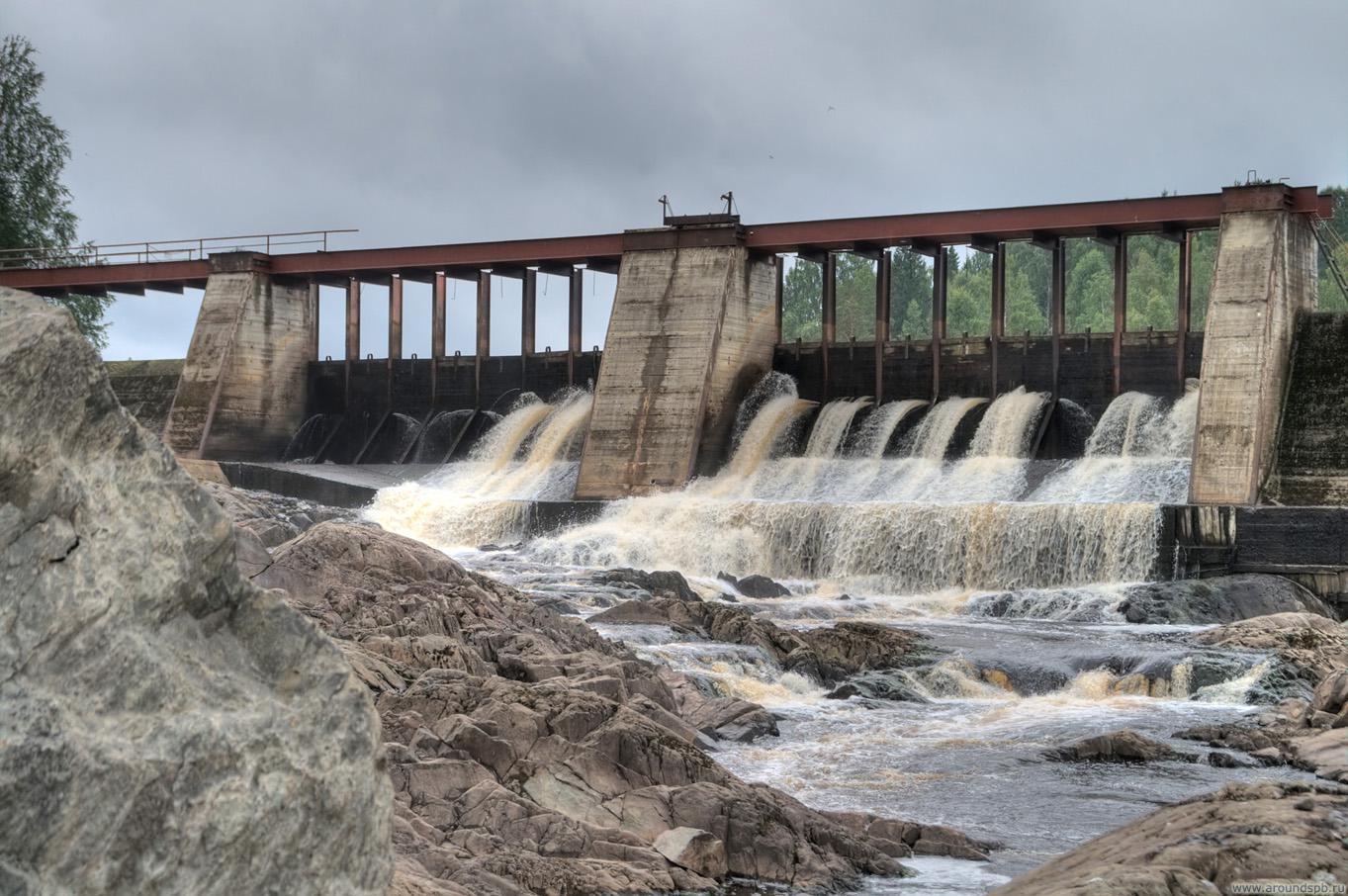 Водосброс ГЭС Игнойла