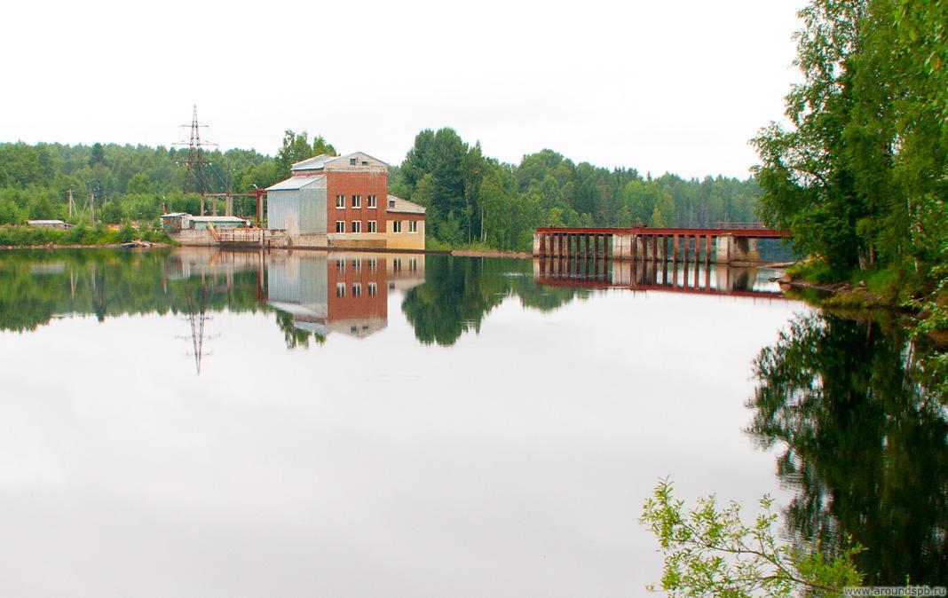 Здание ГЭС Игнойла